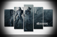 6777 NEKNORS WARFRAME warrior shooter robot Poster canvas framed gallery wrap gallery wrap art print home canvas decor