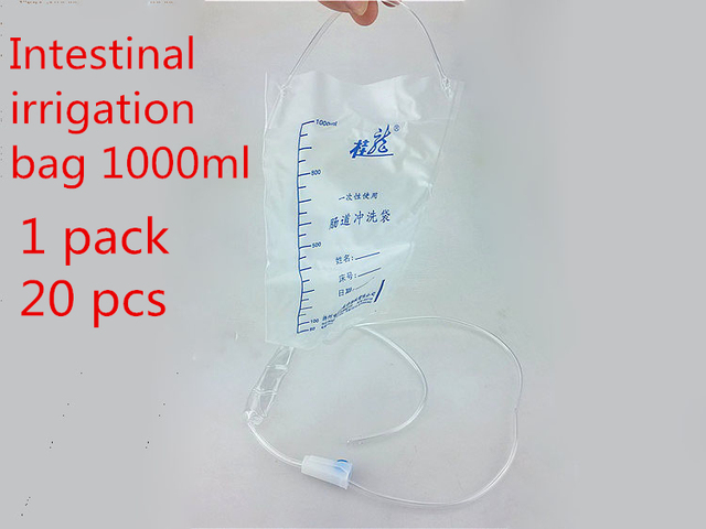 20 штук одноразовые Спецодежда медицинская клизмы стерильные орошения мешок кишечного стиральная мешок домой здоровый уход атонии орошения мешок