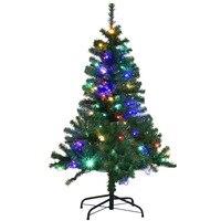 150CM Arbol de Navidad verde arbol de decoracion artificial del abeto PVC 2 clase 11 funciones LED CM20693
