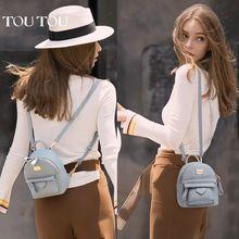 TT002 Fashion Women smallSchool Backpack Womens mini Schoolbag Girls Back Pack Leisure Ladies Knapsack Travel Bags for Teenage