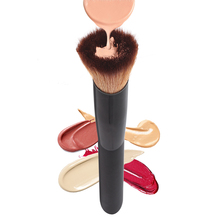 Professional Makeup Brushes Liquid Foundation Brush Concave Big Powder Brush for Face Goat Hair Makeup Contour Blush Brush
