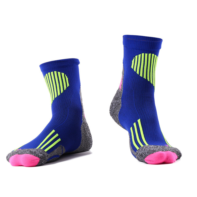 Heated Socks Cycling Men Outdoor Sports Hiking Camping Compression Running Socks Cotton Material Professional Socks Thermosocks mens five toes cotton socks pure breathable sports running finger socks