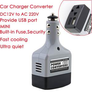 Adapter Power-Inverter AC 220V 12V To USB Car DC 6V Mobile Used-For
