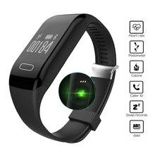 Новый H3 Умный Браслет Браслет & Heart Rate Monitor Деятельности Фитнес-tracker браслет для ios и android-смартфон pk jw018 mi band