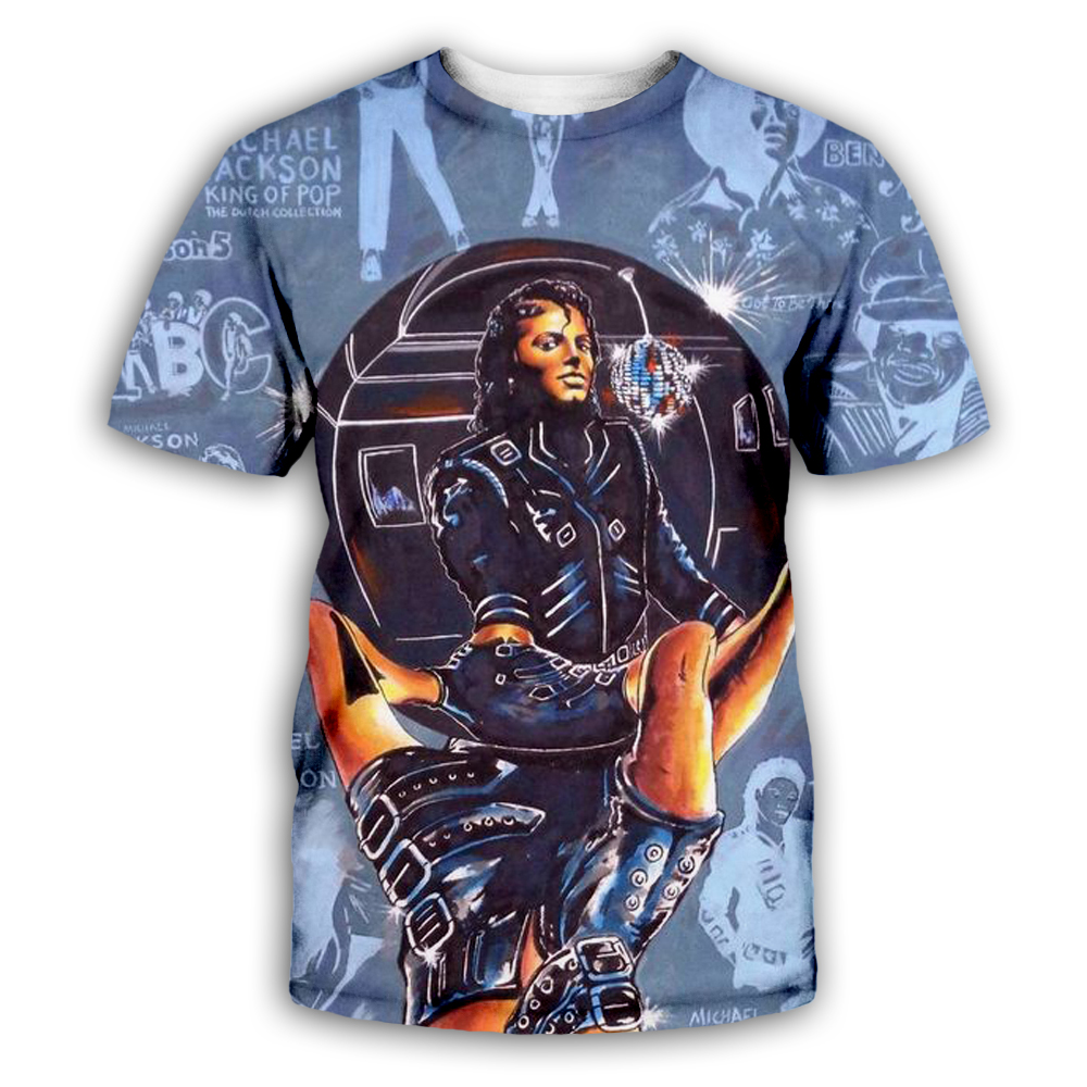 PLstar Cosmos Michael Jackson Macaulay Culkin T shirt hype vintage VTG retro T-shirt King of pop top tee God shirt