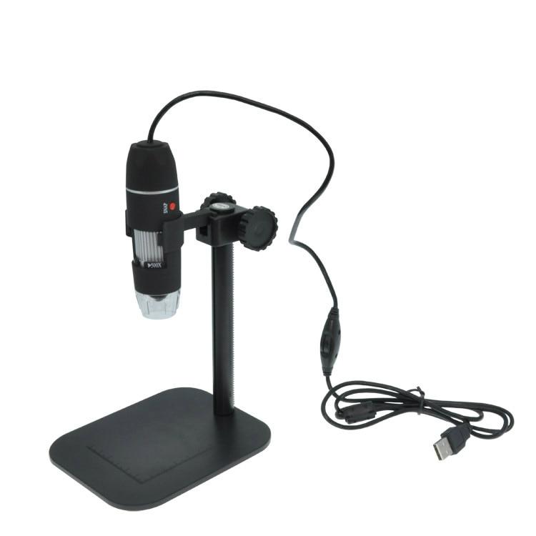 2018 Brand New Digital 50-500X MP USB 3.0 8LED Microscope Endoscope Video Camera Magnifier brand new digital 1 500x 2mp usb 8led microscope endoscope video camera magnifier