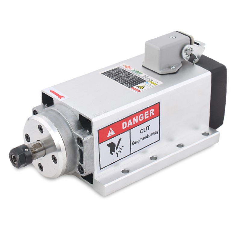 380V 2 2KW ER20 24000RPM Spindle Motor Air Cooled 4pcs Ceramic Bearings High Precision for CNC