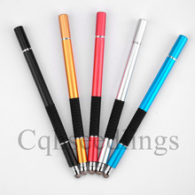 3 in 1 stylus for iPad air Precision Stylus capacity Touch Screen Ballpoint Pen iPhone samsung
