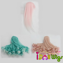 12.5-14cm Head Size Fashion Doll Wigs for 1/12 Kurhn/Monster Dolls High-Temperature Hair Accessories for Toy Doll wmdoll top quality silicone sex doll head for real human dolls real doll adult oral sex toy for men