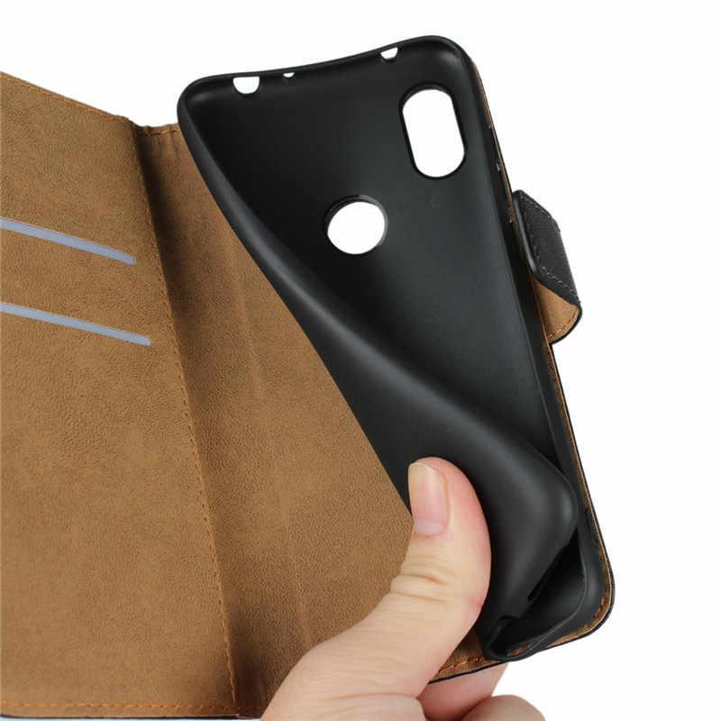 ZEALLION Cho Xiaomi Mi5X 6X8 Max 2 F1 Redmi 5 Cộng Với 6 6 s Lưu Ý 4 5A 6 s2 Da Chính Hãng Lật Wallet Khe Cắm Thẻ Đứng Trường Hợp Bìa