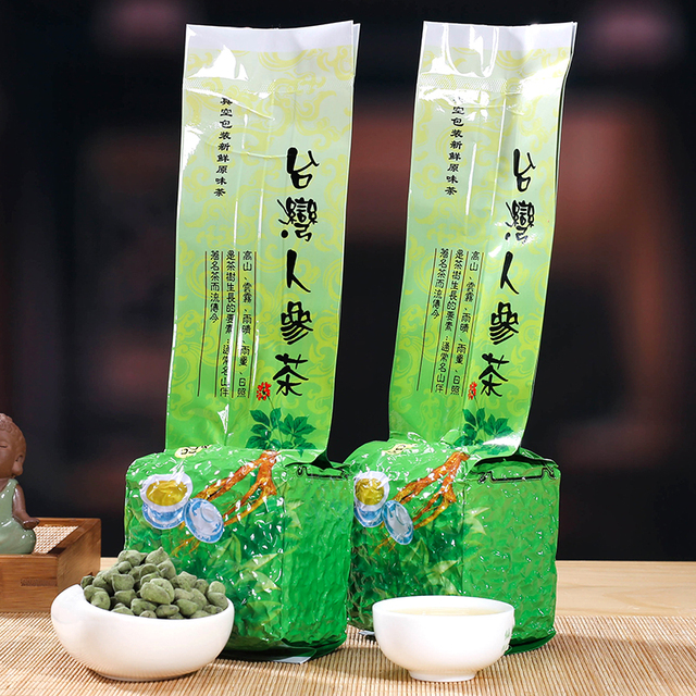 Ginseng Oolong Tea Famous Premium Organic Health Care China Taiwan Dong ding Ginseng Oolong Tea Chinese Tea Quality Green Food