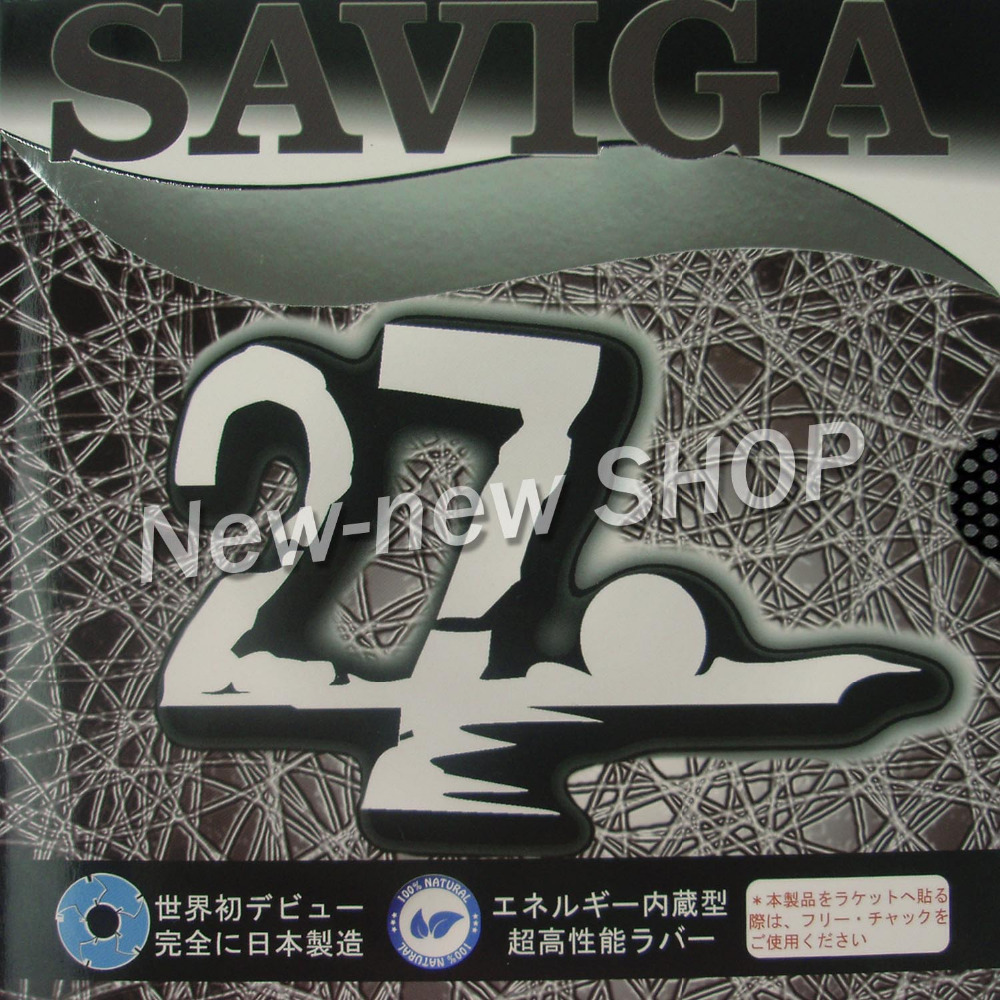 SAVIGA NO.27 Long Pips-Out Table Tennis (PingPong) Rubber (without Sponge)