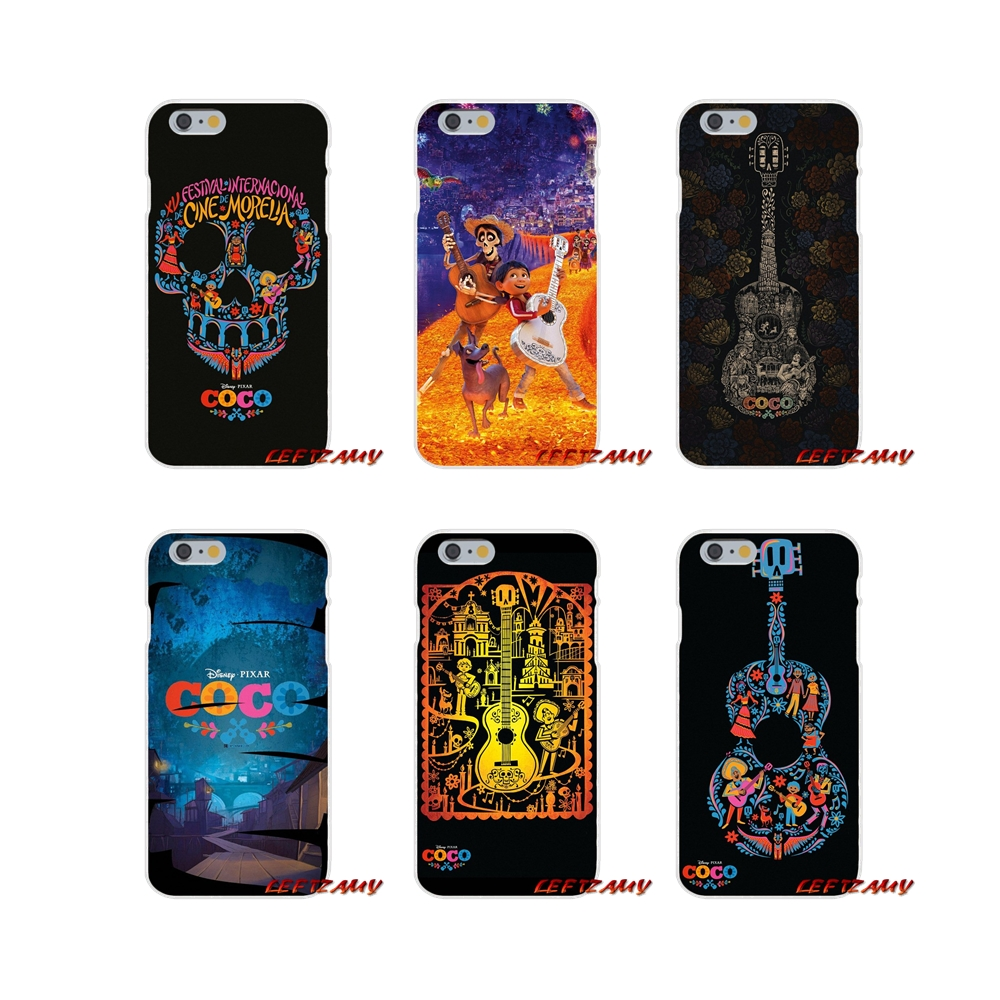 For Xiaomi Mi6 <font><b>Mi</b></font> 6 A1 Max Mix 2 5X 6X Redmi Note 5 5A 4X 4A <font><b>A4</b></font> 4 3 Plus Pro movie Coco Miguel skull TPU Transparent Cases Cover image