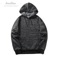 JESSIE VAN Men Hooded Sweatshirts 2018 New Mens Hoodies Sweatshirts Brand Clothing Casual Male Hoodies Suprem