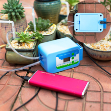 Drip Irrigation Led Pump Automatic Watering Plant Timer Garden Water Home