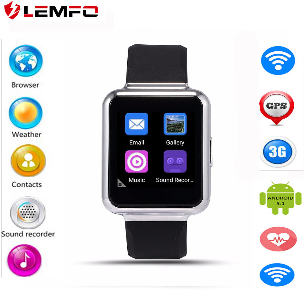 Phone Download Gps For Android Phone online get cheap download apps for android phone aliexpress com lemfo q1 3g wifi gps smart watch 1gb8gb 5 1 mtk 6580 smartwatch phone
