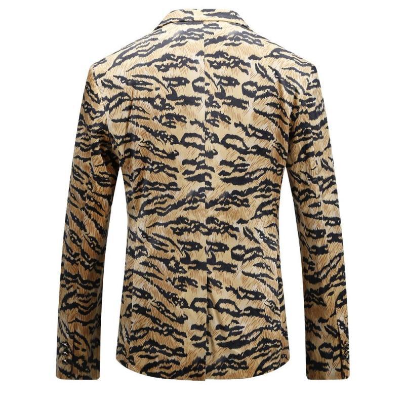 VAGUELETTE, итальянский стиль, модная куртка, блейзер для мужчин, Роскошный рисунок, сценический блейзер для мужчин, Венецианский узор, блейзеры ... - 2
