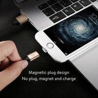 Baseus usb magnetic Charger kabel voor apple lightning oplaadkabel voor ipad iPhone X 5 s 5c 6 s 7 plus 8 case Merk originele 1.2