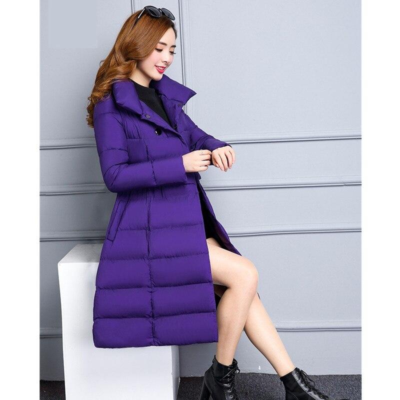 Luxe Casual 978 Bas Veste De Manteau caramel breasted 4xl Nouvelles Longue Taille M D'hiver coffee Femmes purple Femme Double Plue Parka Outwear Black Uhytgf 8qH6H