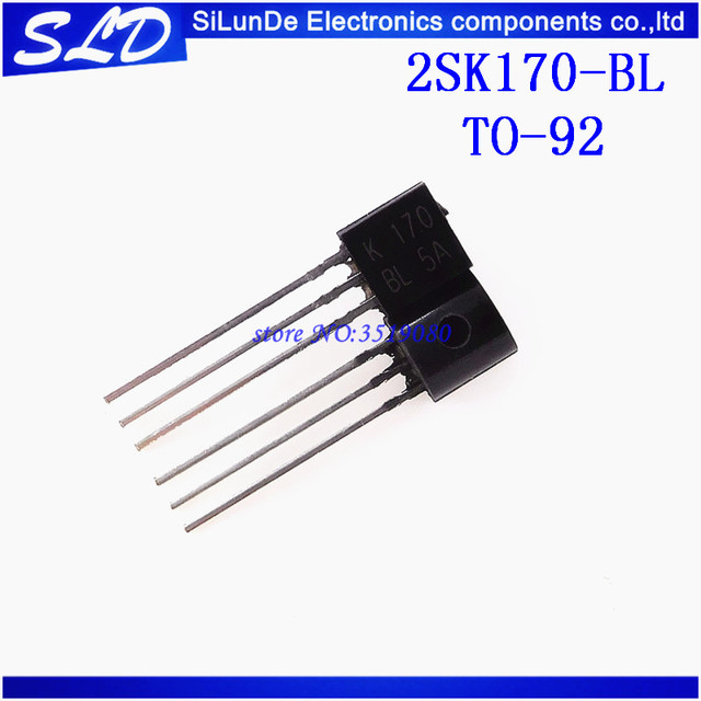20pcs/lot 2SK170 2SK170BL 2SK170 BL K170  TO 92  new and original In Stock