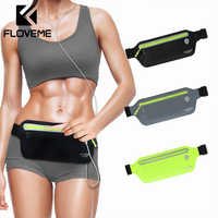 FLOVEME Universal Waist Belts Armband Bag For iPhone Xiaomi 6.5 inch Lycra Sport Arm Band Running Case For Samsung Huawei Pouch