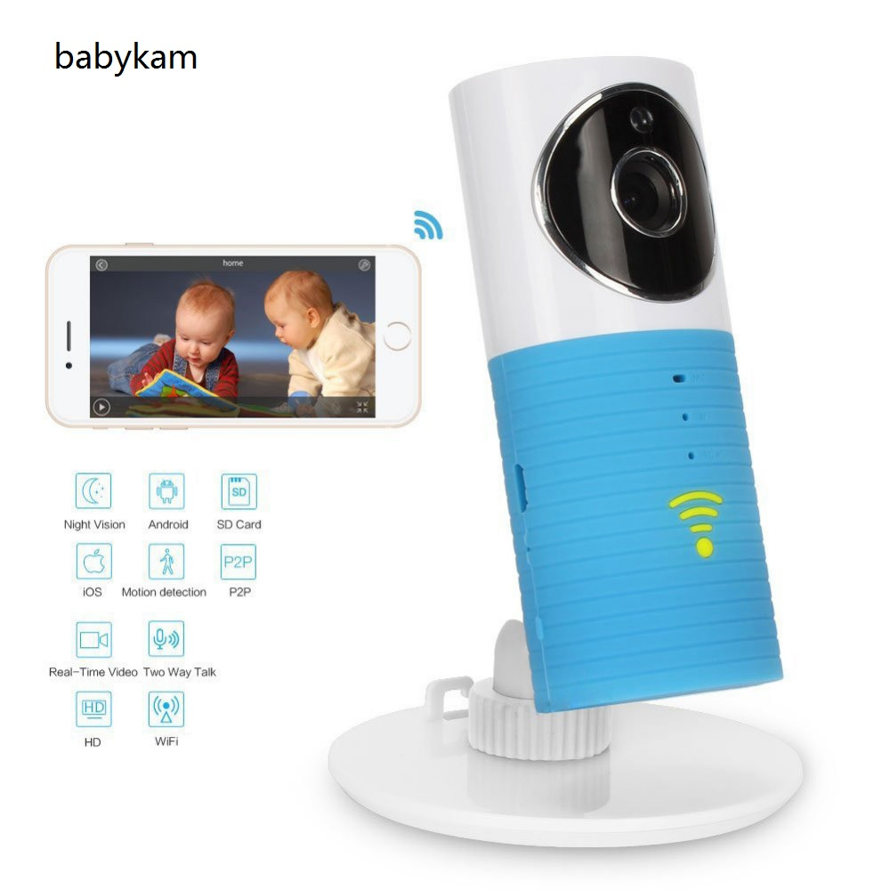 цена на Babykam 720P security camera wifi baby monitors IR Night vision Intercom PIR Motion Detection ip camera for iOS Android Max 32G