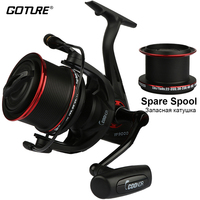 Long Shot Spinning Reel Fishing Reel With A Spare Metal Spool