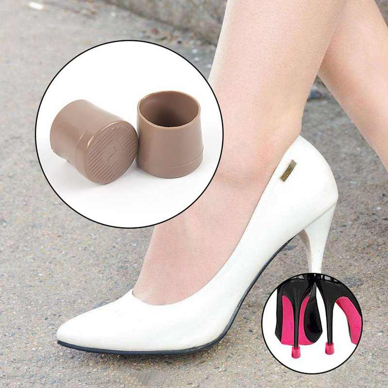 44447eadf68 1 pairs (XS,S,M,L) High Stiletto Heeled High Heel Protectors Heel Stoppers  Shoes Covers Caps For Lawn Wedding Party