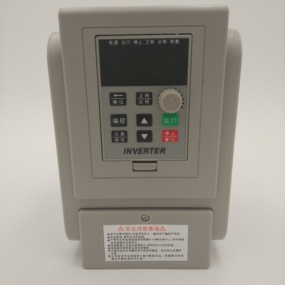 цена на CoolClassic ZW-AT2-1500W Frequency converter single phase 220V Input and Singe phase out 1500W 10A