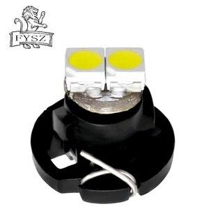 Image 2 - 10 個 T3 T4.2 led 3030 smd 車クラスターゲージダッシュボード白アイスブルーレッドピンク、緑、赤楽器パネルライトネオウェッジ電球