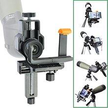 Telescopio/Microscopio/Telescopio Cámara Digital Adaptador de Digiscoping para Fotografía-También Viene con Un Adaptador de Teléfono Inteligente