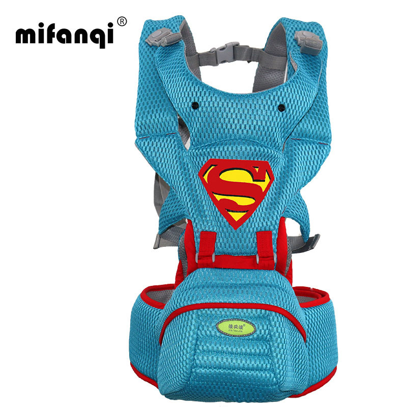 2017 New Fashion Baby Carrier Hipseat Baby Backpack Ergonomic Carrier 360 Multifunctional Baby Wrap Slings for Babies hot baby carrier infant hipseat backpack children s backpack multifunction slings for babies cotton baby hipseat mochilas pt427