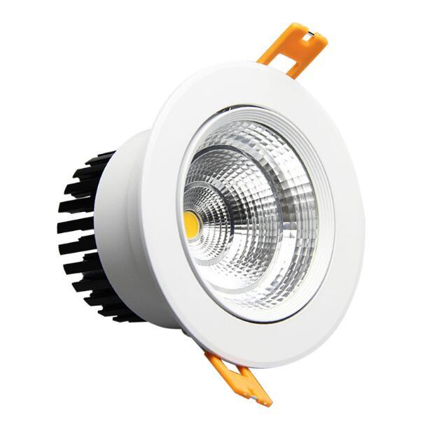 120pcs Dimmable Led downlight light COB Ceiling Spot Light 120pcs5w  ceiling recessed Lights Indoor Lighting AC110V-220V