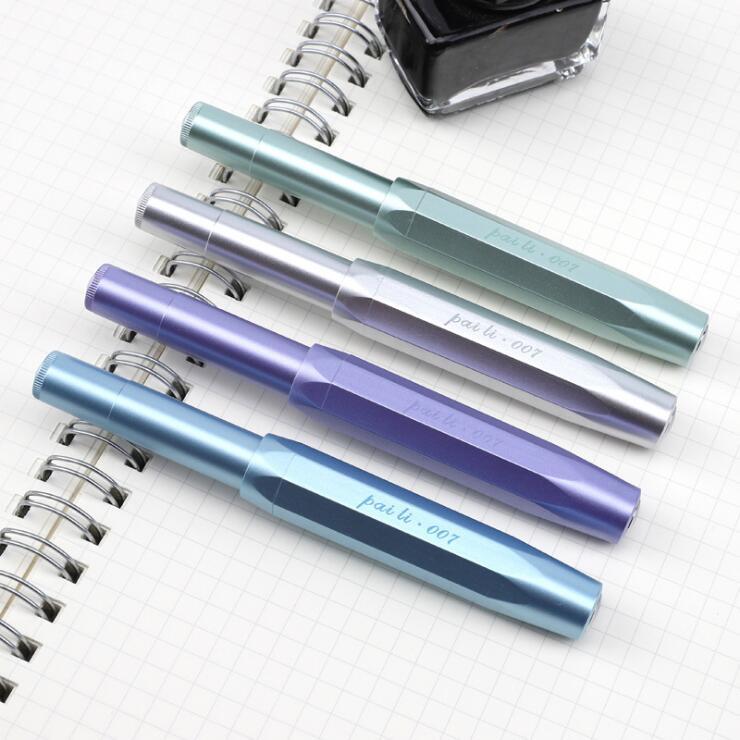 Kawaii Writing Ink Fountain Pen Pocket Travel Iraurita 0.38mm/0.5mm Ink Pens Fashion Design Signing Caneta School Office 03882