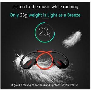 Image 5 - Dacom Atleet G05 Bluetooth 4.1 Headset Draadloze Sport Hoofdtelefoon Oortelefoon Microfoon Headset voor iPhone/Samsung