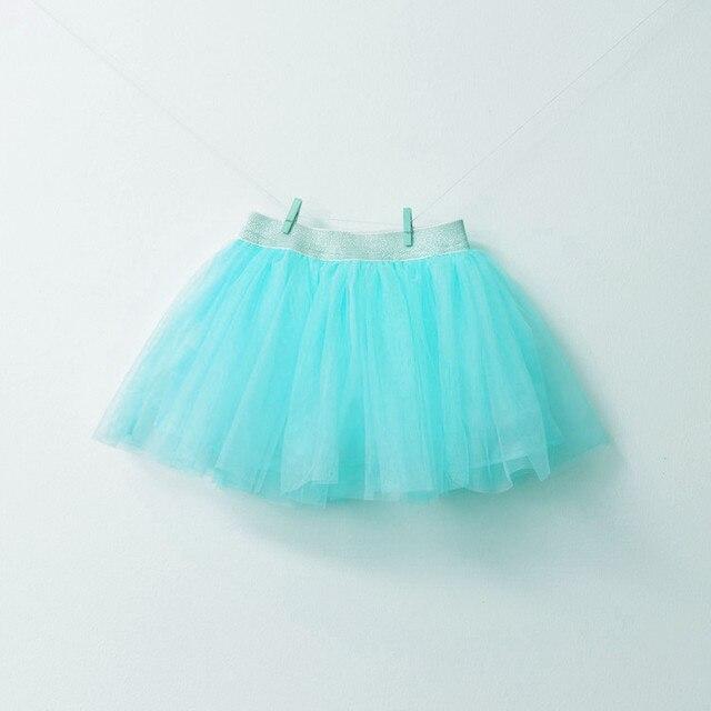 2016 новое лето девочка конфеты цвет марлевые юбки, дети/ребенок принцесса юбка отдыха