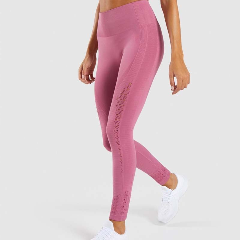 5d10671aba611d Aliexpress.com : Buy Women New Flawless Knit Tights Gym High Waisted  Seamless Leggings Eyelet Knit Fitness Yoga Pants Girl Sport Leggings from  Reliable Yoga ...