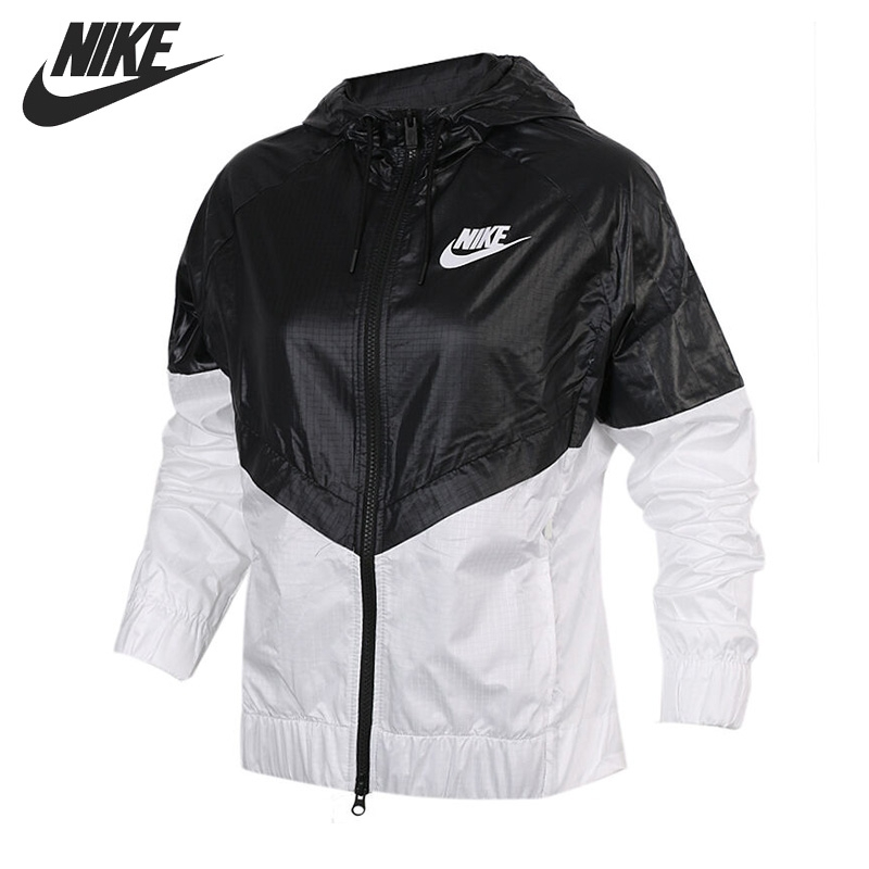 Original New Arrival 2017 NIKE AS W NSW WR JKT Women's Jacket Hooded Sportswear abs chrome front grille around trim racing grills trim for 2013 hyundai santa fe ix45