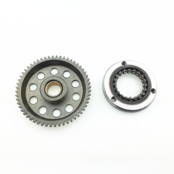 STARPAD For CQR Zongshen 250 Motorcycle Engine T4 Over M4 Clutch Start Clutch Large Disc Tooth Assembly K5