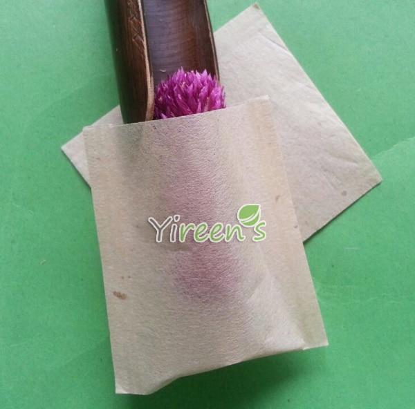 Бесплатная доставка! 58x62 мм коричневый Цвет фильтр Сумки, 1000 шт./лот заварены одноразовые чай в пакетиках, еда Класс фильтровальной бумаги не...