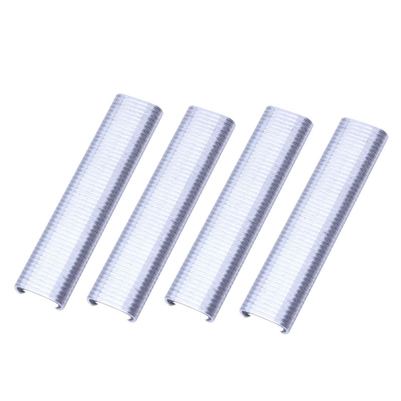 2500Pcs Sr8 Hog Rings C Type Staples Rings Steel Wire Fencing For Pet Cage-Hardware Accessories Industrial Hardware