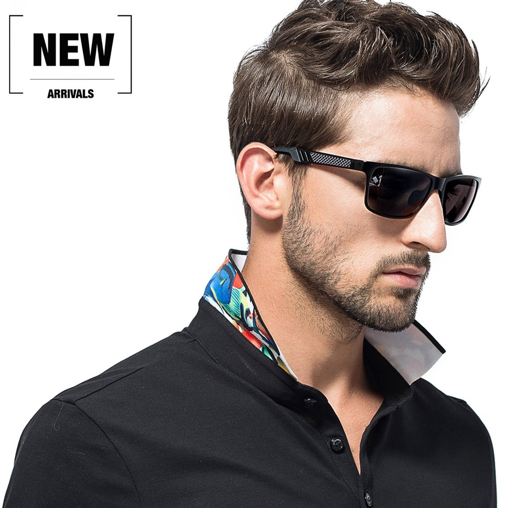 2019 Hot Alloy Frame Driving Polarized Sunglasses for Men Fit Hiking and Variety Outdoor Activities Mens Sun Glasses