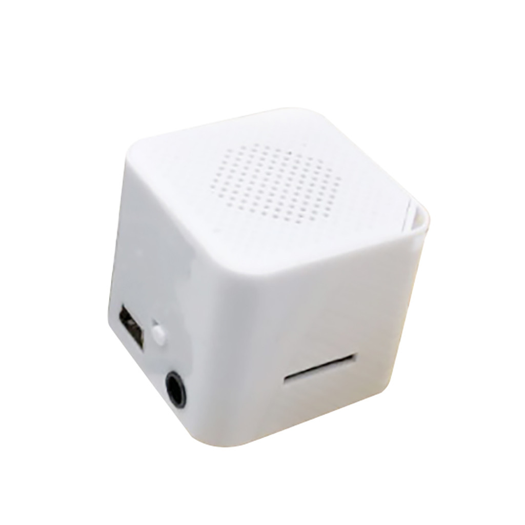 HIPERDEAL, reproductor de MP3, 2019, nuevo, portátil, USB, MP3, Mini reproductor de música, soporte, tarjeta Micro SD TF, música, blanco, Mar29