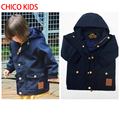 CHICO Kids Boys Girls YKK Zipper&Button  Coat W/ Waterproof &Wind Proof, Kids Clothing Toddler Boys Winter Coat