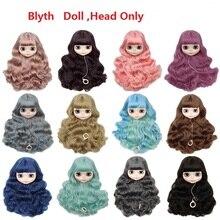 где купить Lifelike Vivid  BJD Doll /Blyth Doll Head With Different Styles Hair And Skin Toy With Hair Girl Dolls For Christmas Toy Gifts по лучшей цене
