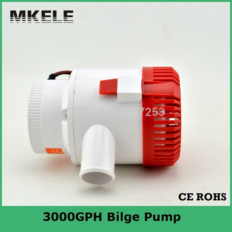 ФОТО water pump MKBP-G3000-24 3000GPH 24v small electric water pumps for Vehicle boat yachting