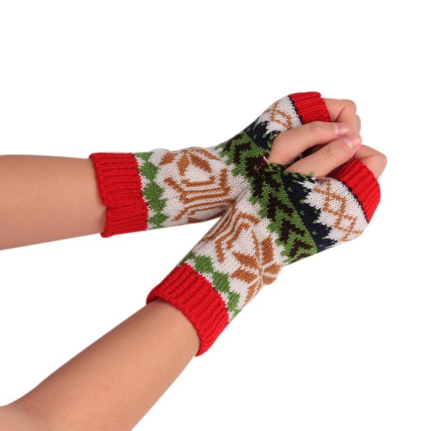 Compra christmas pattern gloves y disfruta del envío gratuito en ...