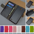 Wallet Leather Flip Case for Alcatel One Touch Idol 6030 6030D cover with Card Holder,Free Shipping
