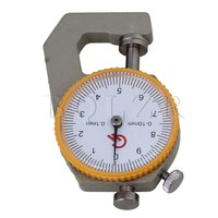 0 To 10mm Compact Round Dial Indicator Pocket Thickness Gage Gauge