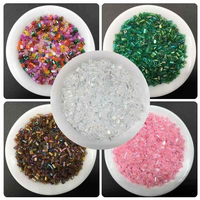 500pcs 2mm Glass Bead Handmade DIY Beads Jewelry Pretty Accessories Simple Fashion For Bracelet Necklace Leisure Cheap Gift